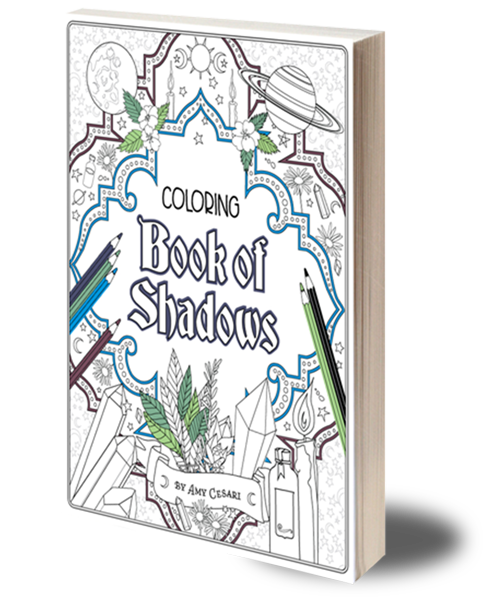 a book of shadows is a journal to explore your own path of magic if you seek it magic will unfold before you in fantastic ways - Book Pictures To Color
