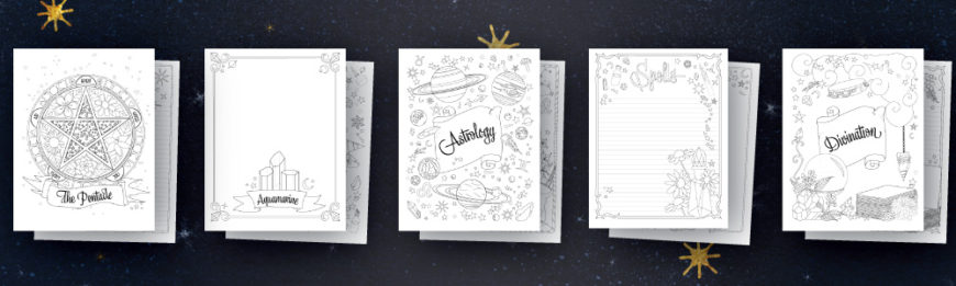Coloring Book of Shadows PDF Pages