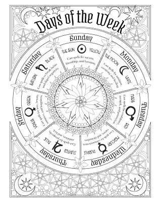 It's just a photo of Satisfactory book of shadows coloring pages free