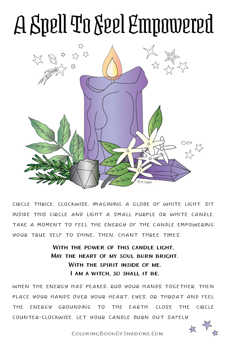 A manifestation spell and witch jar