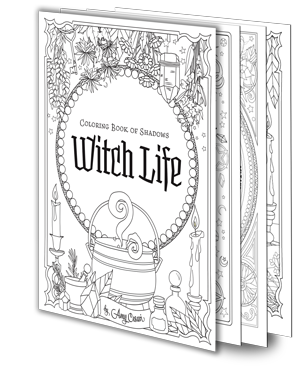 Books - Coloring Book of Shadows
