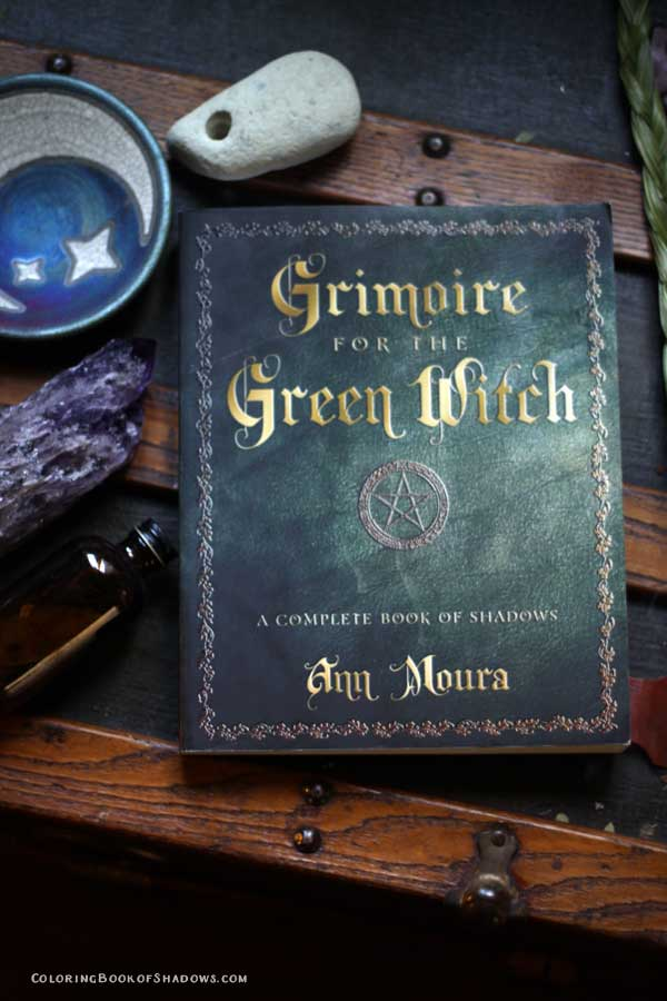 My favorite witchcraft book?! Possibly this one! Grimoire for the Green Witch by Ann Moura. Check out this list of more favorite witchcraft books, spell books, and other witchy things to read. Check out this list of more favorite witchcraft books, spell books, and other witchy things to read.