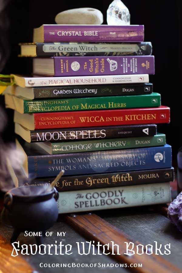 Check out this list of more favorite witchcraft books, spell books, and other witchy things to read. Check out this list of favorite witchcraft books, spell books, and other witchy things to read.
