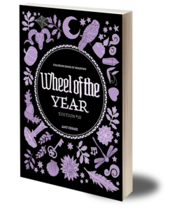 Coloring Book of Shadows: Wheel of the Year (#19) | Witchcraft Books | Grimoire Pages, Ideas & Printables